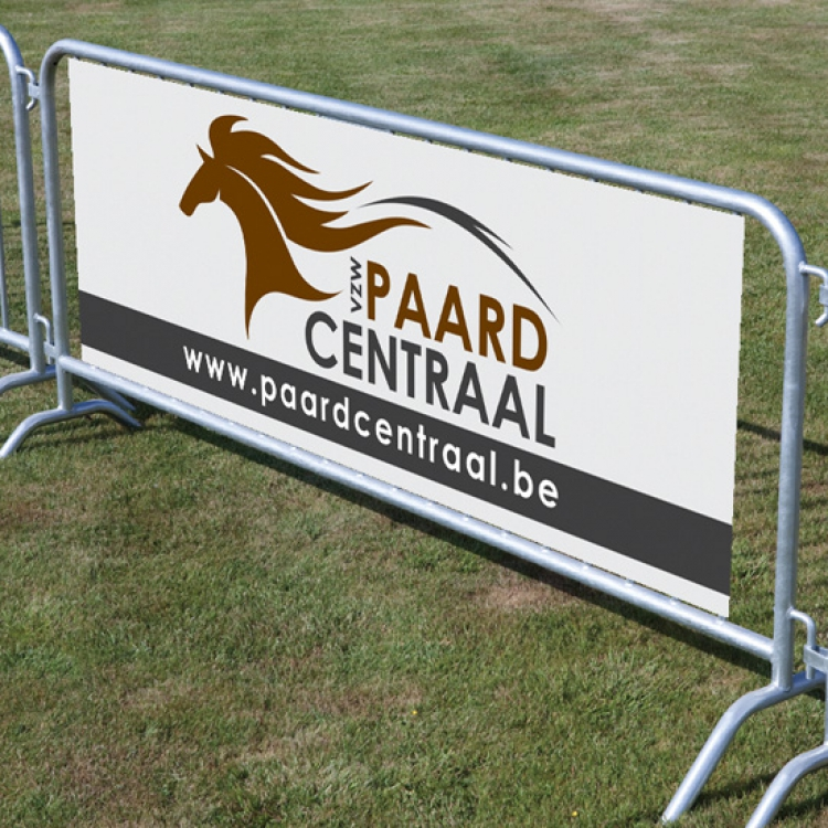 Paard Centraal banner nadarhek
